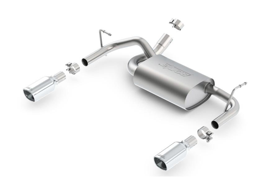 BORLA PERFORMANCE Touring Axle-Back Exhaust System  - JK 2012+