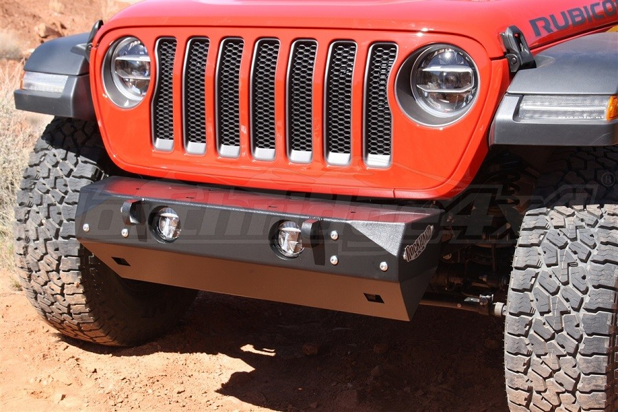 Rock Hard 4x4 Patriot Series Stubby Front Bumper, Steel (Part Number:RH-90200)