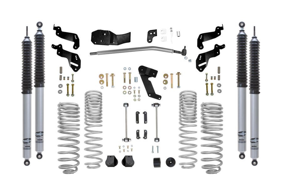Rubicon Express Progressive Coil Sport Lift Kit 3.5in w/Mono Tube Shocks (Part Number:RE7125PM)