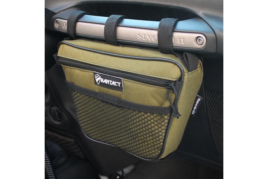 Bartact Dash Grab Handle Bag, Passenger Side - Olive Drab - JT/JL/JK/TJ