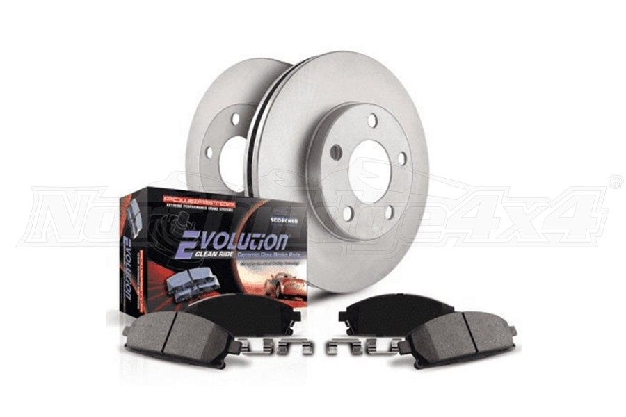 Power Stop AutoSpecialty Front Brake Kit - JL