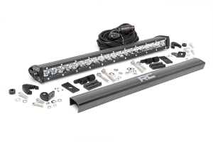 Rough Country Chrome Series CREE LED Light Bar Spot 20in (Part Number: )