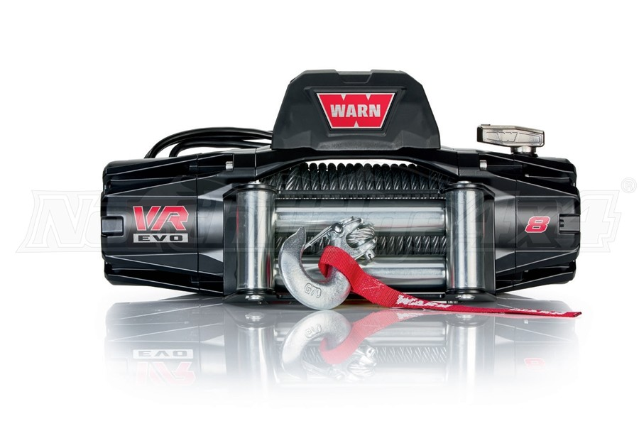 Warn VR EVO8 Winch w/ Steel Cable