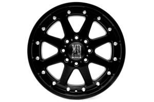 XD Series Addict Matte Black 20x9 8x6.5