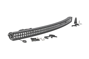 Rough Country 50in Black Series Dual Row Curved Light Bar (Part Number: )