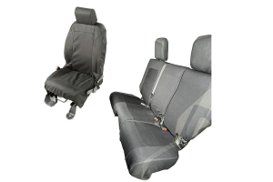 Rugged Ridge Elite Ballistic Seat Cover Set ( Part Number: 13256.02)