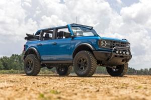 Rough Country SR2 Aluminum Rock Rails  - Ford Bronco