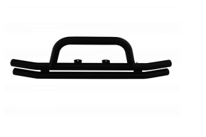 Rampage Products Front Double Tube Bumper, Gloss Black  - JL / JK