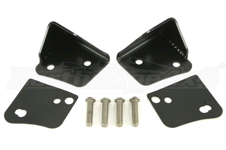 Poison Spyder Lower A-Pillar Light Mount Set (Part Number:45-28-RDA)