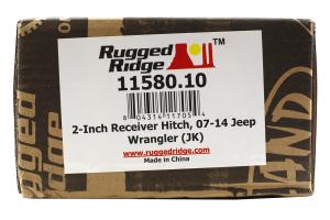 Rugged Ridge Receiver Hitch 2in - JK