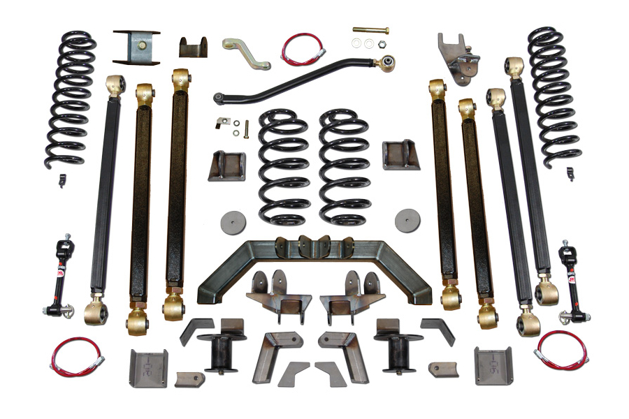 Clayton 5.5in Pro Series 3 Link Long Arm Lift Kit w/Rear 5in Stretch (Part Number:3605110)