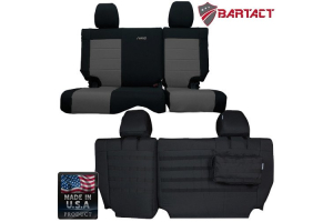 Bartact Rear Split Bench Cover - JK 4dr 2013+ (Part Number: JKSC2013R4B)