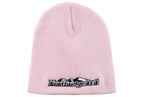 Northridge 4x4 Embroidered Pink Beanie