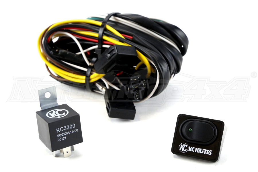 KC HiLiTES Relay Switch Wiring Harness | 6315Northridge 4x4