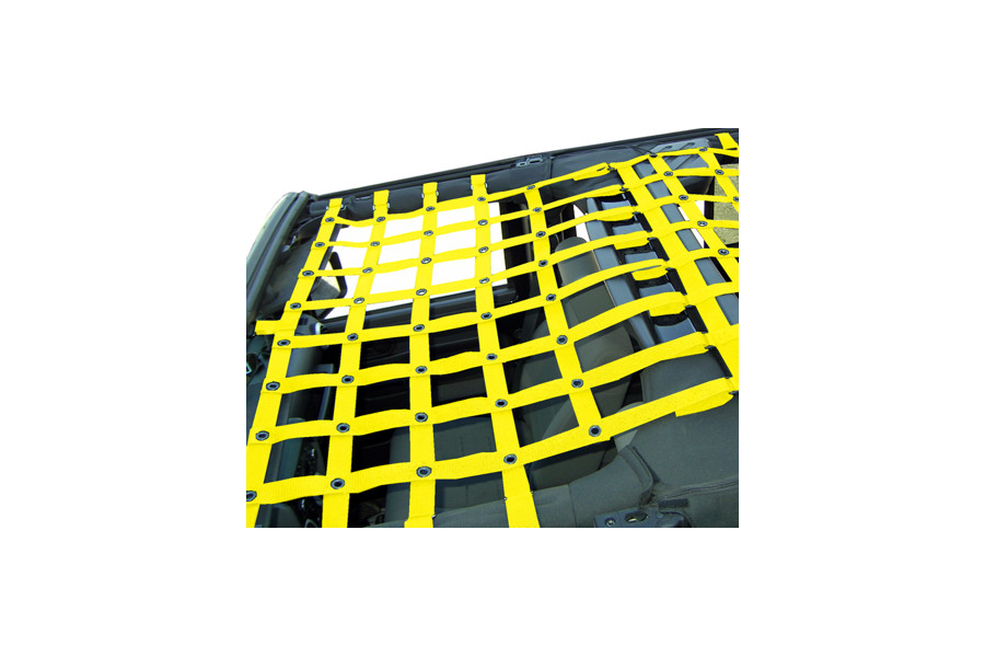 Dirty Dog 4x4 Front Netting Yellow (Part Number:J4NN07F1YL)