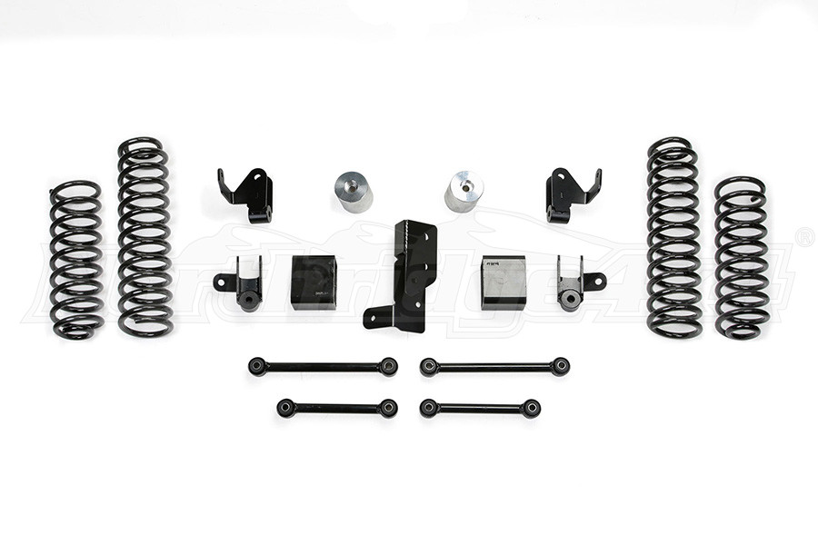 Fabtech 3in Sport System w/ Shock Extensions - JL 4DR