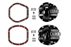 ARB Dana 30/44 Differential Covers & LubeLocker Package Black - JK/LJ/TJ