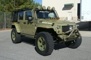 Rugged Ridge Hurricane Fender Flare Kit  - JK