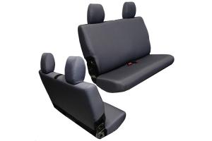 BARTACT Baseline Seat Cover Rear Bench Graphite - JK 2dr 2011-12
