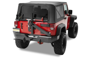 Bestop HighRock 4x4 Rear Bumper w/ Tire Carrier (Part Number: )