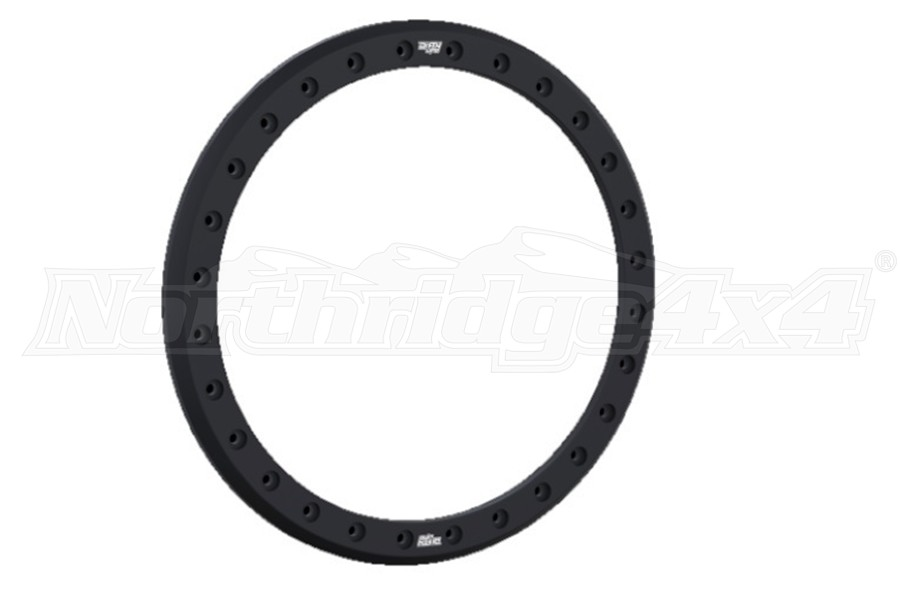 Wheel-1 Dirty Life Forged Beadlock Race Rings Black 17in (Part Number:9302RACERING-17MB)