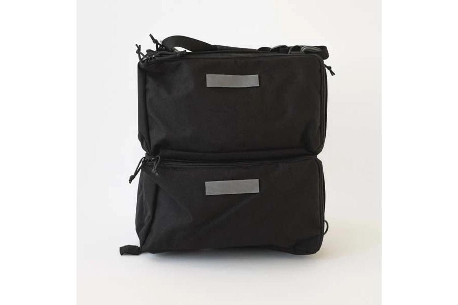 Last US Bag Co. Happy Camper Organizer Bag - Black