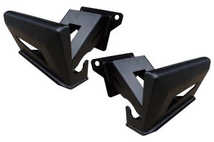 LOD Destroyer Bed Sliders, Pair - Black - JT