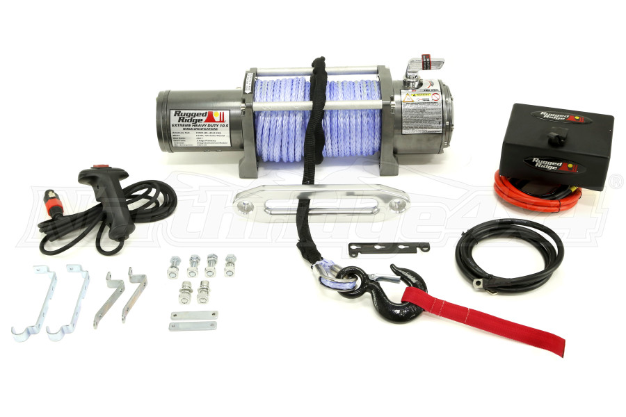 Rugged Ridge Performance 10,500lbs Winch (Part Number:15100.11)