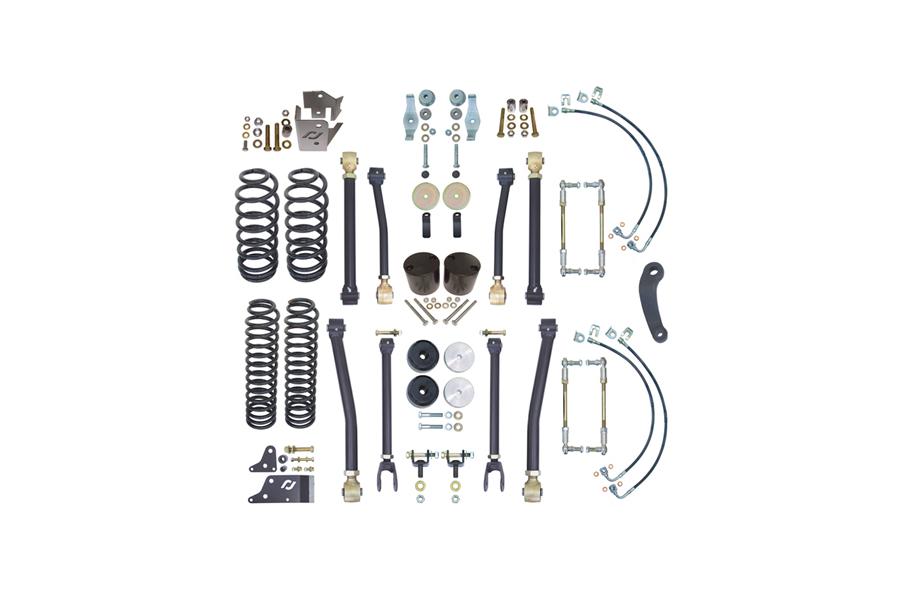 Currie Enterprises 4in Suspension w/Adjustable Front and Rear Sway Bar Links (Part Number:CE-9808)