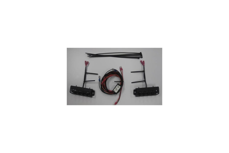 Maximus-3 Trail Marker Lights & Day Time Running Lights Kit (Part Number:HR1039ML)