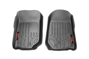 Rough Country Heavy Duty Floor Mats Front Set - JK 2007-13