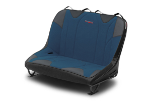 MasterCraft Rubicon Dirtsport Bench Seat w/o Headrests Black / Blue (Part Number: )