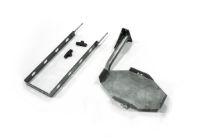 LOD Destroyer 5 Gallon Jerry Can Mount / Passenger Side Bare Steel (Part Number: )