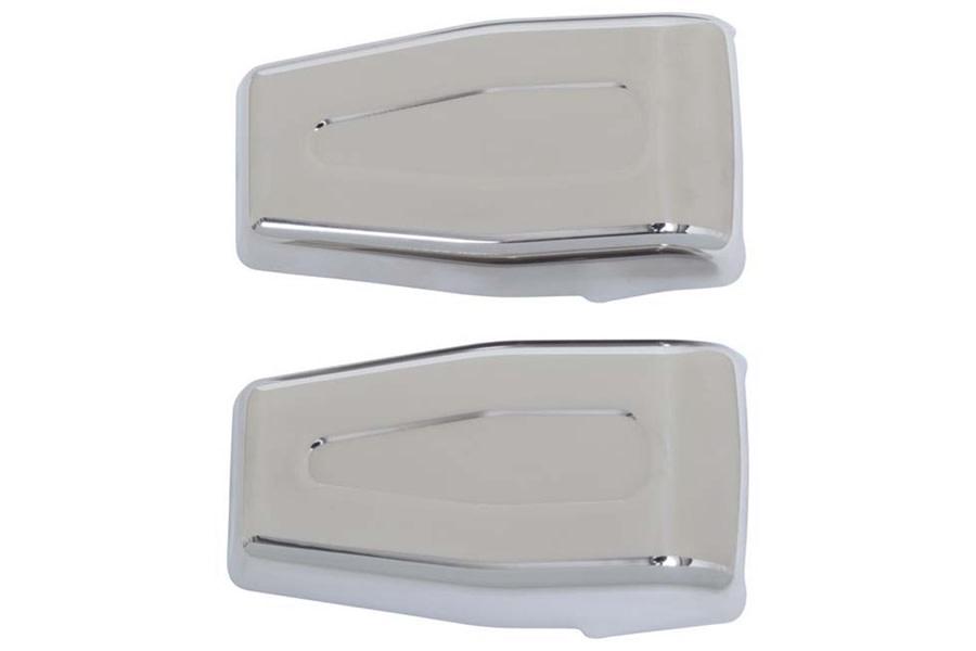 Kentrol Liftgate Hinge Overlay Set - Polished Silver  - JK