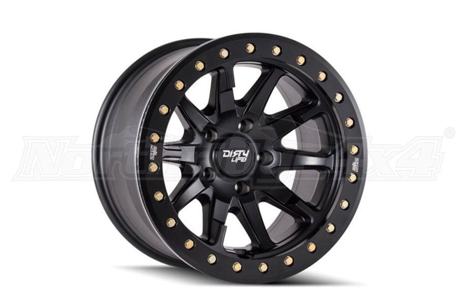 Wheel-1 Dirty Life DT-2 Series Wheel Matte Black 20X9, 5x5 (Part Number:9304-2973MB00)