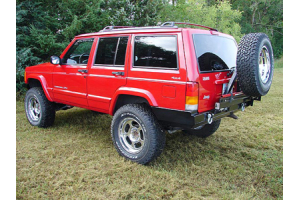 Rock Hard 4x4 Patriot Series Rear Bumper w/Tire Carrier ( Part Number: RH-1013)