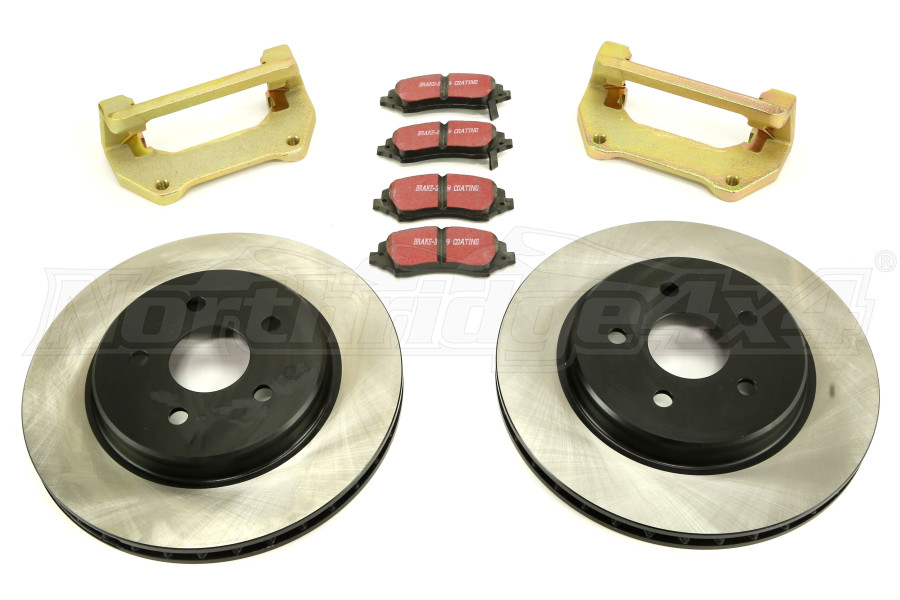 Dynatrac Progrip Performance Brake System Front (Part Number:JK44-1X1125-A)