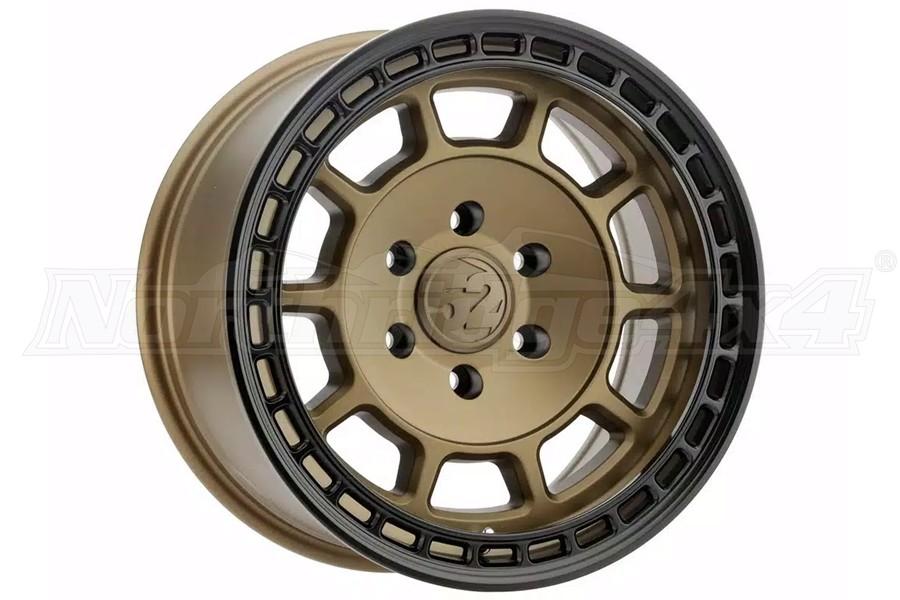 Fifteen25 Traverse HD Series Wheel, Bronze 17x8.5 5x5 - JT/JL/JK