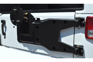 EVO MFG Pro Series Hinged Gate Carrier BLACK - JK
