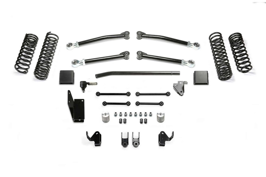 FabTech 2in Trail Lift Kit w/ Shock Extensions - JT Mojave Only