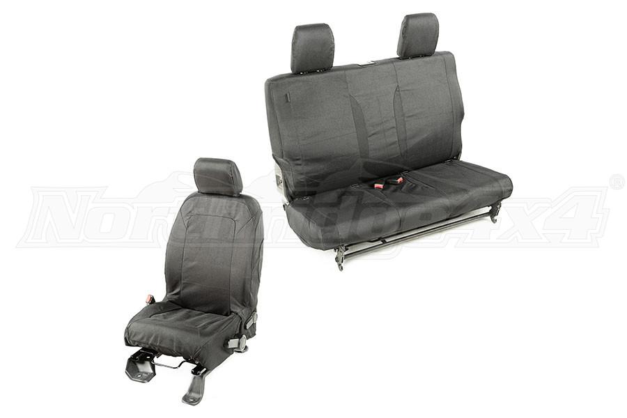 Rugged Ridge Elite Ballistic Seat Cover Set (Part Number:13256.03)