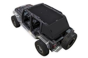 SpiderWebShade 2-Piece ShadeCage System - Black - JK 4Dr