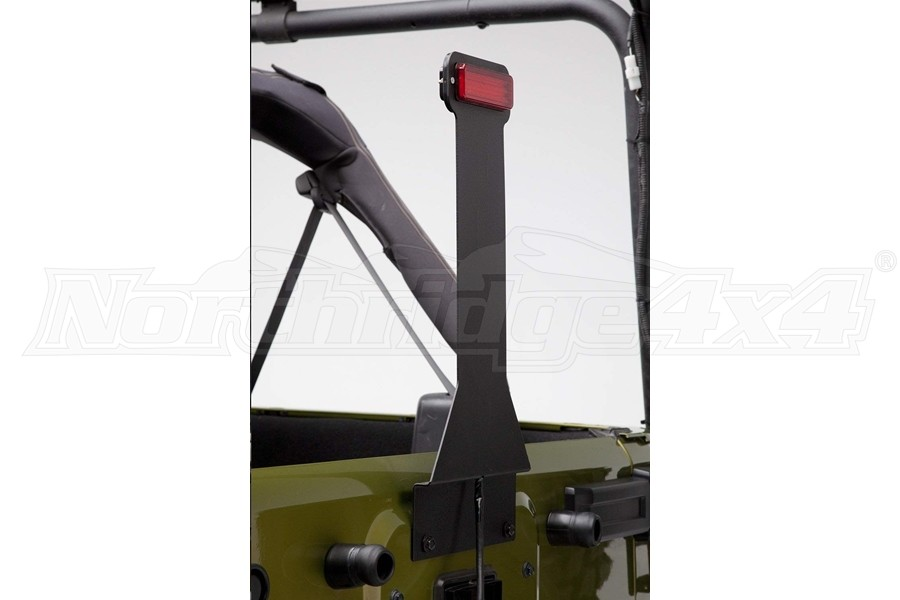 Body Armor Elevated Center Mounted Brake Light Kit (Part Number:JK-5120)