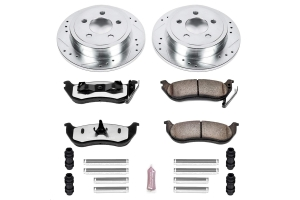 Power Stop Z36 Extreme Truck and Tow Brake Kit, Rear  (Part Number: )