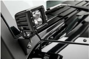 Aries Jeep Windshield Light Brackets - JK