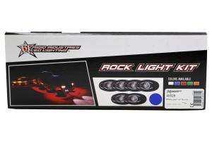 Rigid Industries A-Series Rock Light Kit Blue (Part Number: )