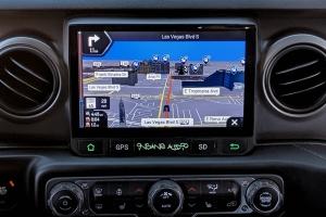 Insane Audio IP66 Waterproof/Dustproof Multimedia 9in Head Unit w/Navigation - JT/JL