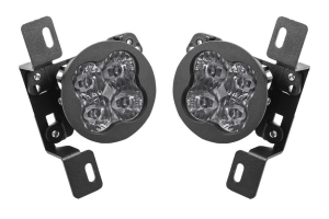 Diode Dynamics SS3 Sport LED Fog Light Kit, White - Pair - JT Rubicon