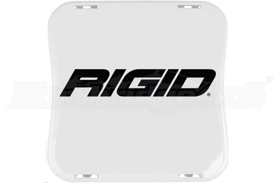 Rigid Industries D-XL Series Cover, White (Part Number:321963)