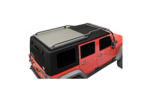 Black JK- Low-Pro Front to Back Rails (Must Have 55015 AND 55070) (Part Number: )